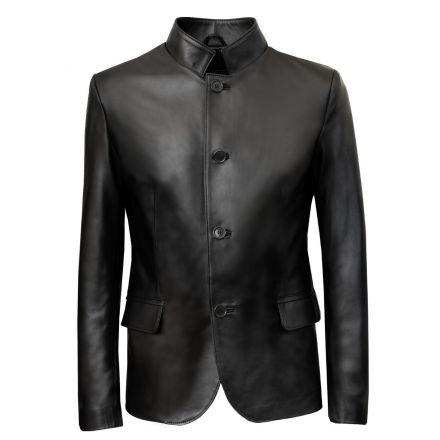 giacca-classica-vera-pelle-uomo-nera-padova-con-bottoni-1.jpg