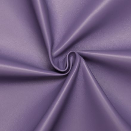Light purple Lamb / Mutton leather Lavander with Monochrome Smooth effect