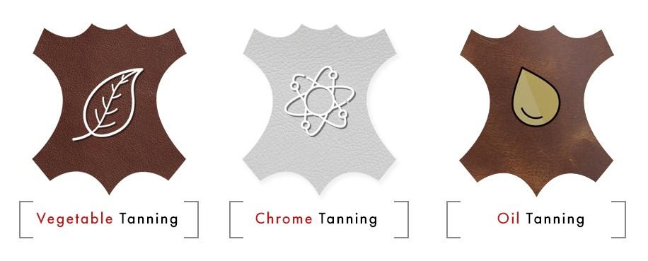 Different types of tanning - Vegetable Chromo Oil