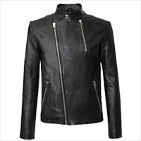 Men genuine leather clothing