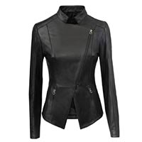 Women genuine leather clothing