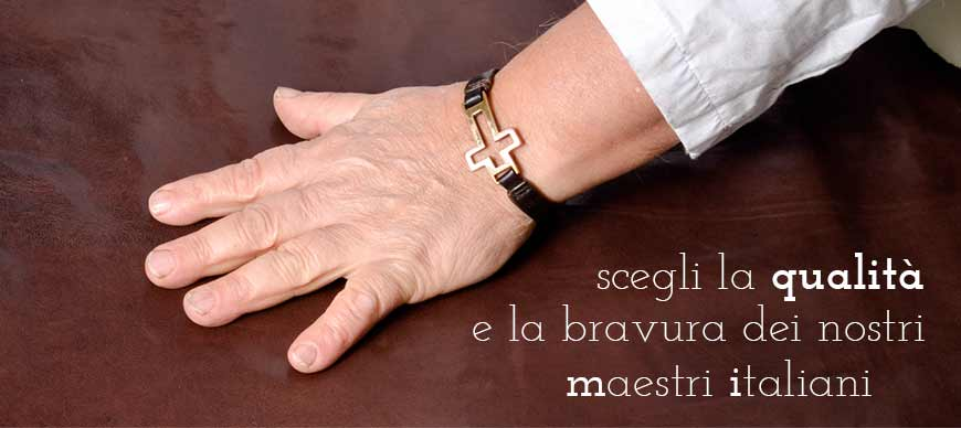 Made in Italy Quality- Genuine Leather and Hides