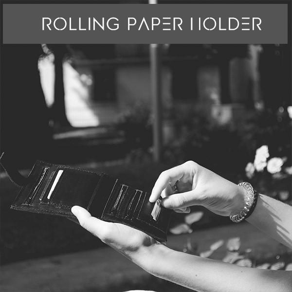 paper holder tobacco pouch Leggendario