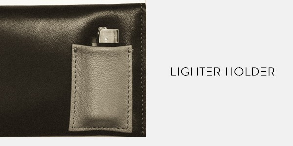 lighter holder tobacco pouch