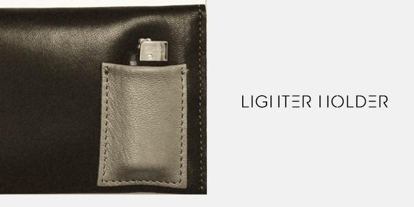 lighter holder tobacco pouch