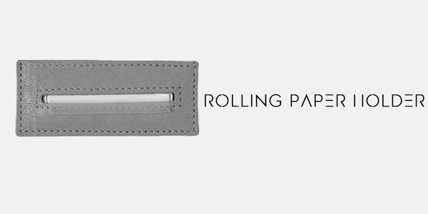 paper holder tobacco pouch
