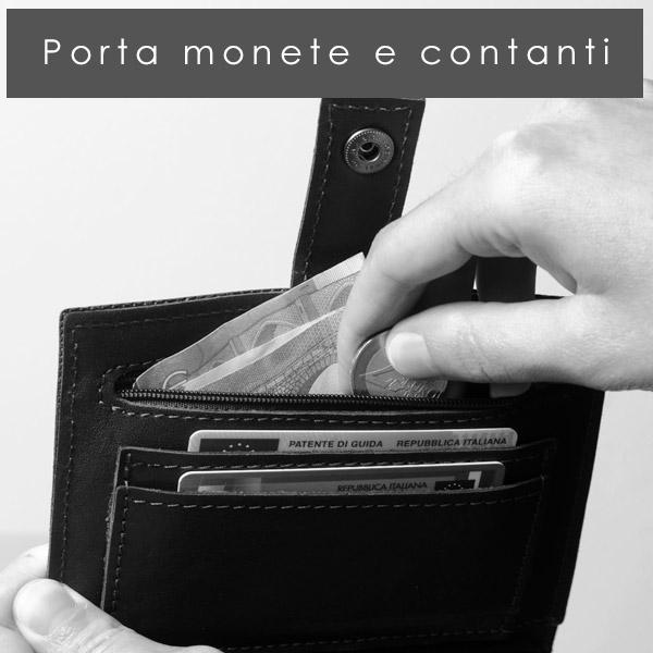porta monete e soldi portatabacco